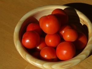 12月13日赤くなったトマト